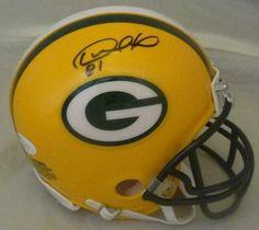 Desmond Howard Autographed Green Bay Packers Mini Helmet (Name Only) JSA 7a1470dde