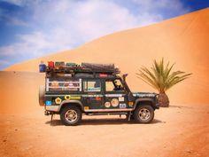 // LandRover desert