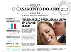 revista jornal casamento originais - Pesquisa do Google