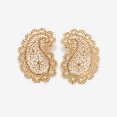 Crochet Earrings, Bracelets, Gold, Jewelry, Fashion, Moda, Jewlery, Jewerly, Fashion Styles