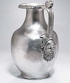 Silver wine jug from tomb of Philip II, king of Macedonia and father of Alexander the Great (Ashmolean Museum, Oxford)