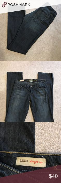 "William Rast Sadie. Straight leg. Size 27. Inseam 34.5"" William Rast Jeans Straight Leg"