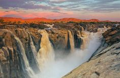 Augrabies Falls National Park, piccolo ma bellissimo parco nazionale nella Provincia del Northern Cape. Arrivando dalla costa atlantica o dal Namaqualand