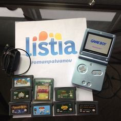 HUGE Nintendo LOT! Nintendo Gameboy Advance SP With 9 Games And Charger (GREAT CONDITION!)