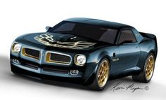chevy missed pontiac so much so they turned a camaro into a trans am..now thats what i like to see <3
