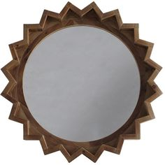 Andrew Martin Yves Mirror Fir Wood Glass (9.105 ARS) ❤ liked on Polyvore featuring home, home decor, mirrors, dark brown, chevron mirror, glass mirror, chevron home decor, andrew martin and dark brown mirror