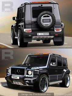 Mercedes G-Class Renntech.