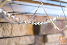Christmas Decorating Ideas for a Rustic Glam Mantel: Earthy with Sparkle