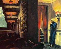 """New York Movie"" by Edward Hopper"