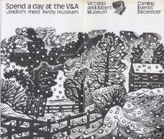 V & A Ad - Eric Ravilious