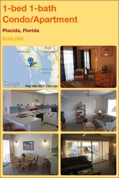 1-bed 1-bath Condo/Apartment in Placida, Florida ►$150,000 #PropertyForSale #RealEstate #Florida http://florida-magic.com/properties/7652-condo-apartment-for-sale-in-placida-florida-with-1-bedroom-1-bathroom