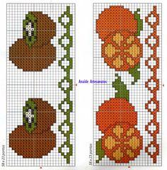 Anaide Ponto Cruz: Barrados de flores.