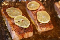 Blackened Baked Salmon... easy fast and good for you
