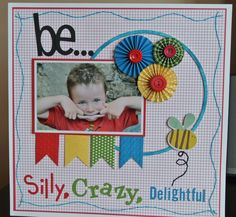 Boy page with stitching...