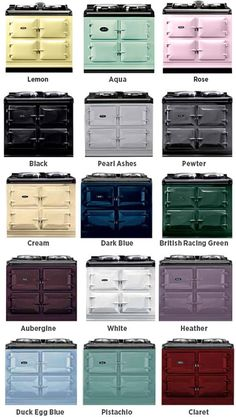 AGA 39 Inch Freestanding Dual Fuel Cooker with Boiler Hot Plate, Simmering Hot Plate, Roasting Oven, Baking Oven, Slow-Cook Oven and Insulated Covers: Lemon Aga Kitchen, Country Kitchen, Kitchen Appliances, Retro Appliances, Lemon Kitchen, Electric Aga, Electric Cooker, Electric Range Cookers, Aga Range