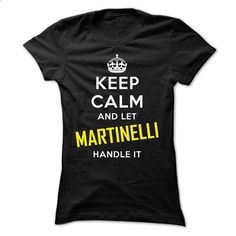 KEEP CALM AND LET MARTINELLI HANDLE IT! NEW - #cardigan sweater #funny sweater. CHECK PRICE => https://www.sunfrog.com/Names/KEEP-CALM-AND-LET-MARTINELLI-HANDLE-IT-NEW.html?68278