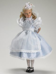 tea party alice in wonderland doll ~ by robert tonner #dollchat #repins