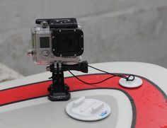 Capture those surfboard and kayak experiences easily. By using the GoPro Surfboard Mount, you can now make the most out of your water sports photoshoot.