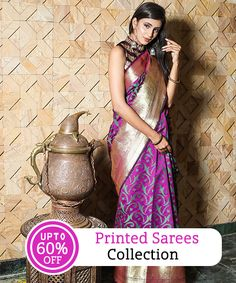 7e35855e4a3a7 Printed Sarees Collection With UPTO 60% OFF  royalsari  banarasi   handloomsarees  cotton  banarasisilk  chanderi  narayanpet   sareecollection  indianwear ...