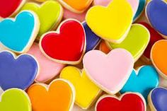 heart biscuit icing - Google Search