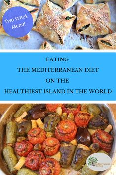 Eating a Traditional Mediterranean Diet for 2 Weeks Want to know what people on the healthiest island in the world eat? Check out our two weeks of eating the Mediterranean Diet on the Greek island of Crete! Mediterranean People, Mediterranean Diet Meal Plan, Mediterranean Recipes, Vegetarian Italian Recipes, Greek Recipes, Real Food Recipes, Vegan Recipes, Diet Meal Plans, Meal Planning
