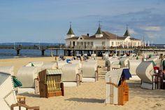 lübeck- Travemünde beach - Strandkorb-