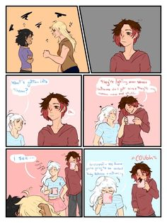 i hate u for making me do comics Post - Rusby Robse Rwby Anime, Rwby Fanart, Anime Girlxgirl, Anime Art, Yuri Anime, Rwby Raven, Ymir And Christa, Rwby White Rose, Rwby Memes