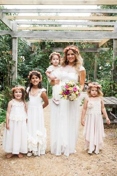 LOL - look at the flower girls' faces! This just made my day.