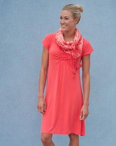 Effortless Dress   Neon Hot Tropic
