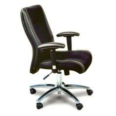 Mayline Mercado Mid-Back Leather/Mesh Office Chair, Black by Mayline Group. $239.59. Pneumatic seat height adjustment with center pivot. Chair Type: Managers. Color: Black. Material: Leather. Collection: Mayline Mercado Series. Seat Height Range: 17 1/2 x 21. Back Dimensions: 19 x 19 1/2. Seat Dimensions: 20 1/2 x 19 1/4. Overall Dimensions: 41 1/2 x 27 x 27 1/2. Chrome 5-star base. Adjustable arms. Meets or exceeds ANSI/BIFMA standards. Casters supplied with this chair ar...