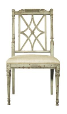 London Side Chair from the Mariette Himes Gomez collection by Hickory Chair Furniture Co.