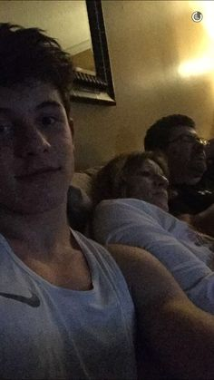 On Shawn's Snapchat