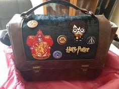 Sac Quadrille à écussons Harry Potter cousu par Elodie - Patron Sacôtin