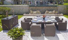 Comedor de jardín Pacific de lujo en Portobellodeluxe.com. Tu tienda de muebles de lujo