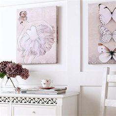 Graham & Brown - Classic Ballerina , Canvas Wall Art, 40x50cm