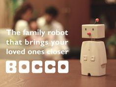Bocco – Un robot pour rester connecté