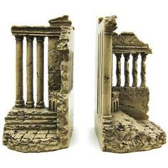 I finally found the perfect bookends! They will be arriving by the end of the week! Porch Of The Maidens Acropolis Bookends Book Ends Greek.
