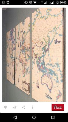 Quadro de mapa