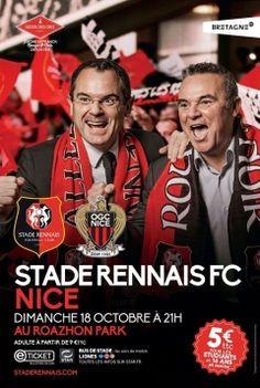 Marque Bretagne / Stade Rennais Football Club / Affiche / 2015