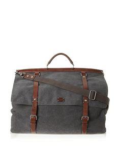 Dolce & Gabbana Men's Canvas Weekender Bag at MYHABIT