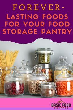 Emergency Preparedness Kit, Emergency Preparation, Survival Tips, Survival Skills, Pantry List, Prepper Food, Long Term Food Storage, Home Canning, Preserving Food