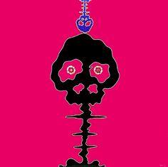 Takashi Murakami > Time Bokan - Pink #popart #takashimurakami #superflat #kaikaikiki #artetrama