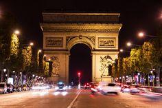 L'Arc de Triomphe, taken on avenue Champs-Élysées. | Paris Travel