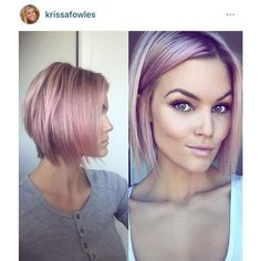 Krissa Fowles pink short hair ❤ liked on Polyvore featuring accessories, hair accessories, short hair accessories and pink hair accessories