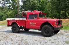 Green Hill FD Jeep M715 Fire Truck