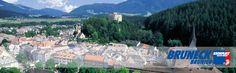 Bruneck, die Stadt im Herzen des Pustertales / Brunico, the city in the heart of the Pustertal valley