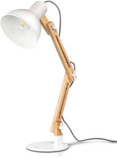 Wooden Desk Lamp, Led Desk Lamp, Table Lamp, Wood Desk, Wood Table, Study Lamps, Office Lamp, Wood Swing, Work Lamp