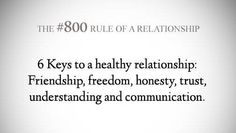 . Life Rules, Marriage Life, 21 Day Fix, All You Need Is Love, Honesty, Healthy Relationships, Married Life, Loyalty