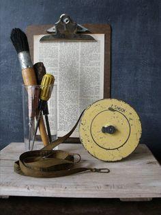 Vintage Lufkin Surveyors Measuring Tape