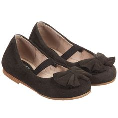 Bloch Girls Black 'Vittoria' Suede Shoes at Childrensalon.com